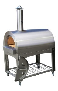 Tunnel wood fired pizza oven